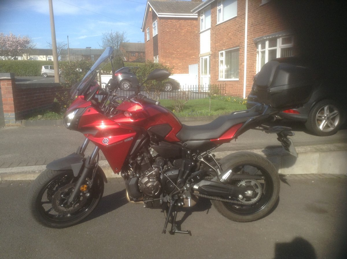 2016 YAMAHA MT07 TRACER AS NEW For Sale (picture 1 of 6)