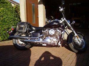 2004 Yamaha XVS650 motorbike at Morris Leslie Auction 25th May