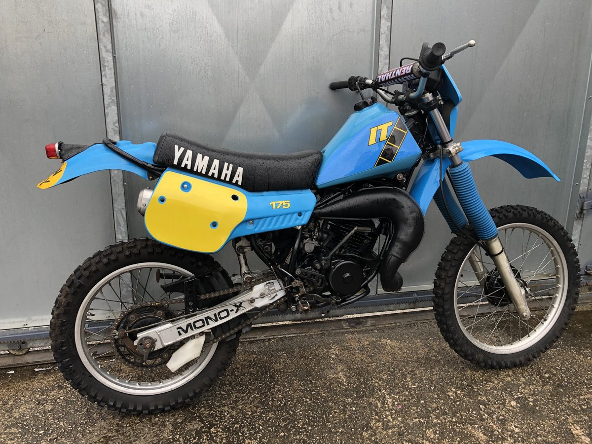 1980 YAMAHA IT 175 ENDURO TRAIL ROAD REGD RARE BIKE £3995 ONO PX For Sale (picture 3 of 5)
