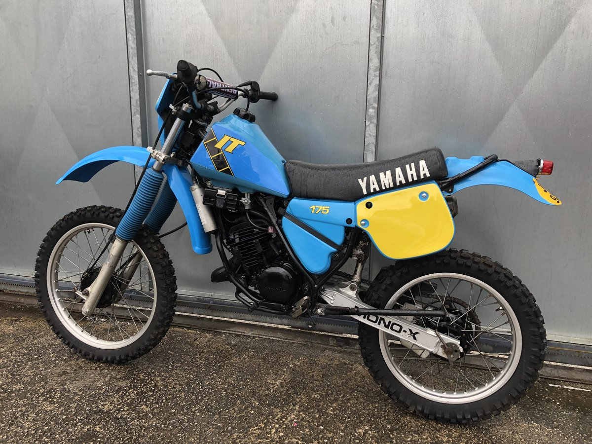 1980 YAMAHA IT 175 ENDURO TRAIL ROAD REGD RARE BIKE £3995 ONO PX For Sale (picture 4 of 5)
