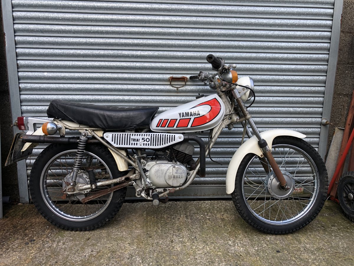 1977 YAMAHA TY50 CLASSIC TRIALS MOPED LAST OF THE FAST PEDS £2995 For Sale (picture 2 of 2)