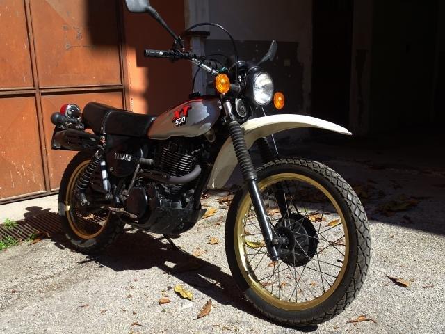 1981 Yamaha XT 500 conservata e originale For Sale (picture 1 of 6)
