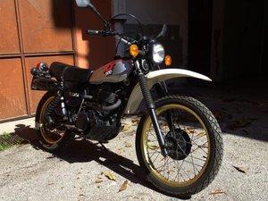 1981 Yamaha XT 500 conservata e originale For Sale