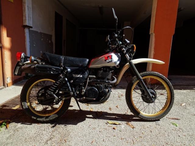 1981 Yamaha XT 500 conservata e originale For Sale (picture 2 of 6)