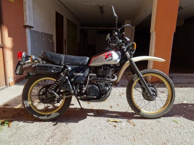 1981 Yamaha XT 500 conservata e originale For Sale (picture 4 of 6)
