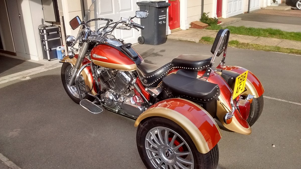 Motorcycle Trike 1999 Yamaha Dragstar XVS 650A SOLD (picture 1 of 6)