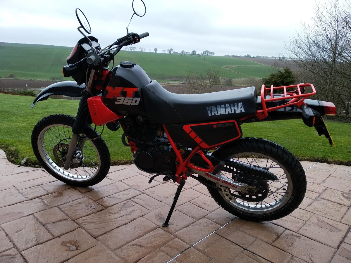 1986 PRISTINE CONDITION YAMAHA XT 350 For Sale (picture 1 of 6)
