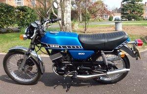 RD200 1979 UK Bike Restored