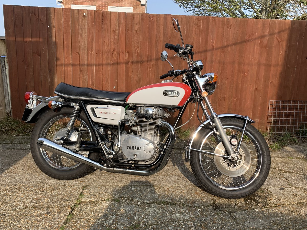 Yamaha XS650 1972 For Sale (picture 1 of 5)