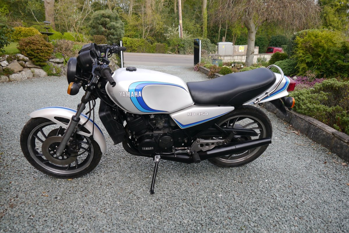 1982 Yamaha RD350LC 4L0 import, SOLD (picture 1 of 5)