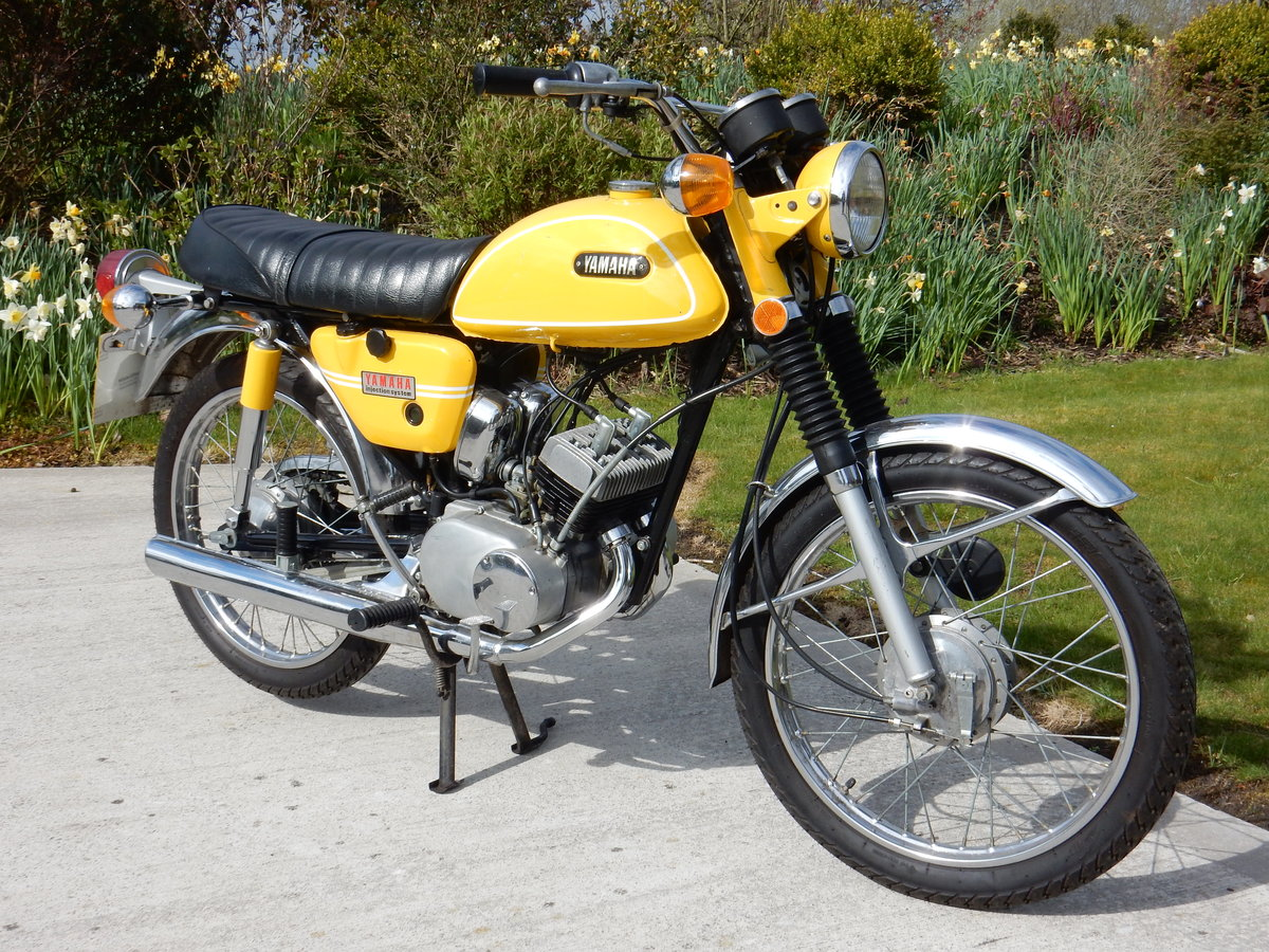Yamaha HS1 89cc 1970 Matching Frame & Engine numbers For Sale (picture 1 of 2)