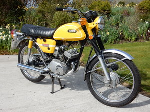 Yamaha HS1 89cc 1970 Matching Frame & Engine numbers For Sale