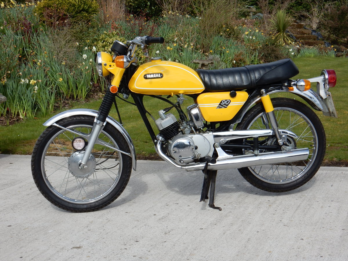Yamaha HS1 89cc 1970 Matching Frame & Engine numbers For Sale (picture 2 of 2)
