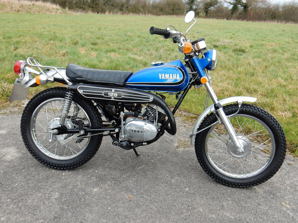 Yamaha DT125 Enduro 123cc 1973 Electric Start - Matching Nos For Sale (picture 1 of 2)