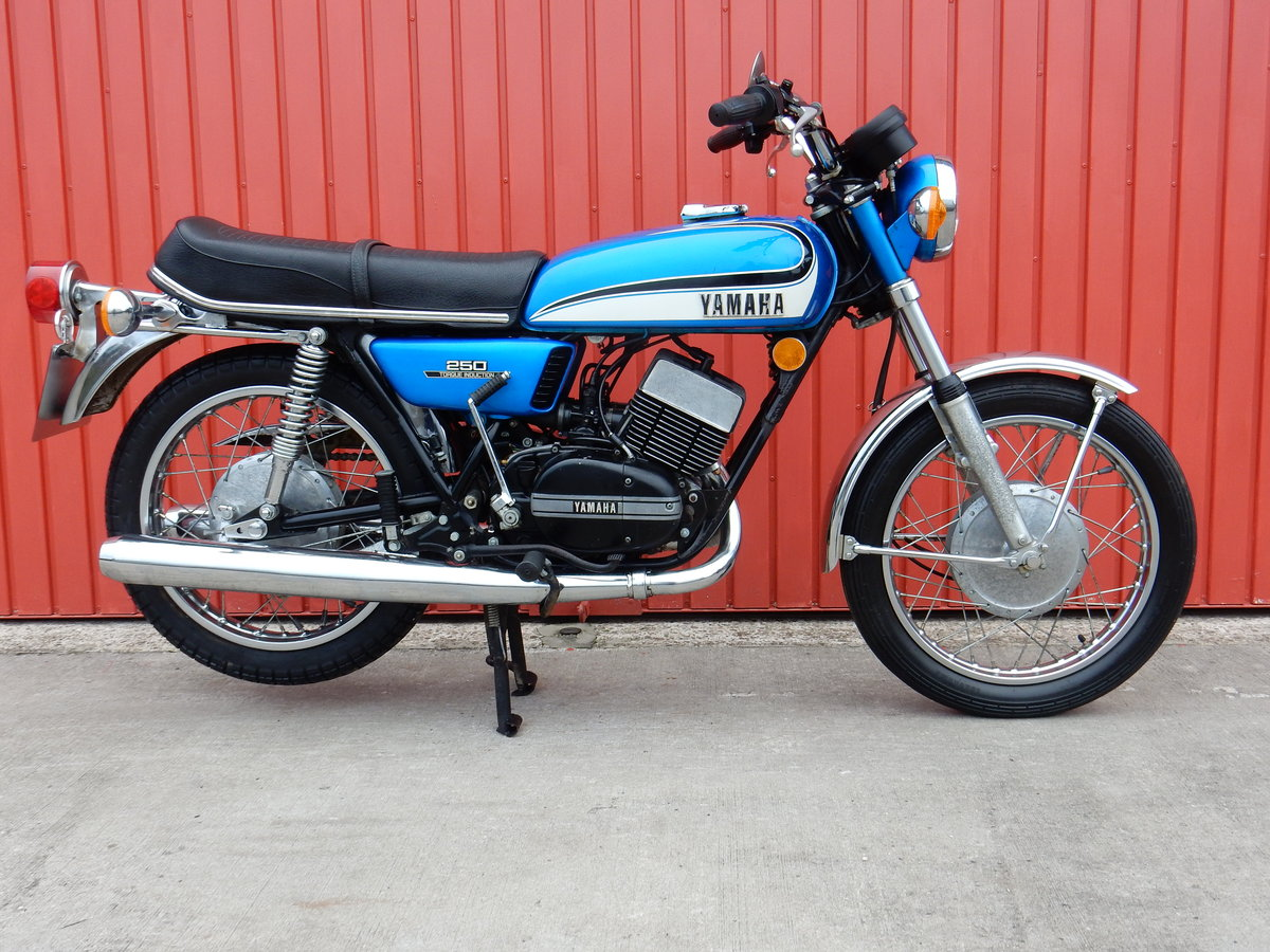 Yamaha RD250 1973 Matching Frame & Engine Numbers For Sale (picture 1 of 2)