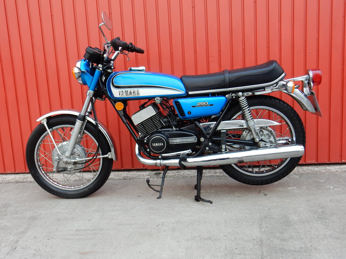 Yamaha RD250 1973 Matching Frame & Engine Numbers For Sale (picture 2 of 2)