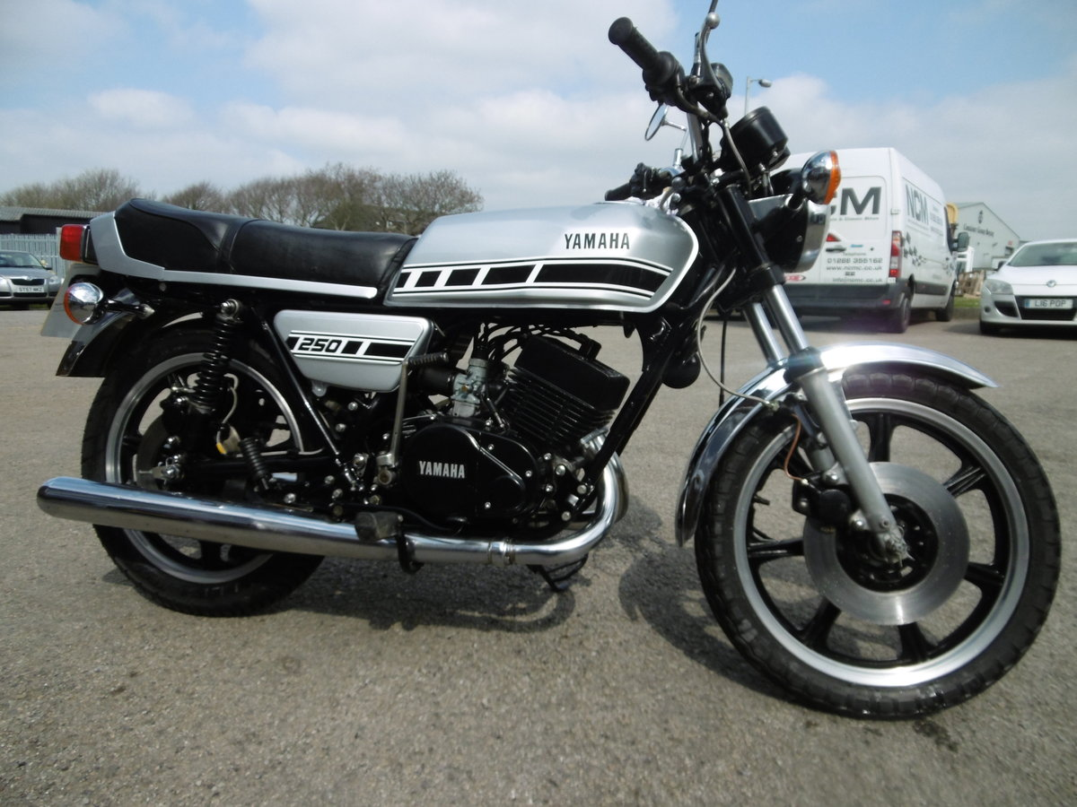 1979 Yamaha RD250 UK bike Timewarp condition .  SOLD (picture 1 of 6)