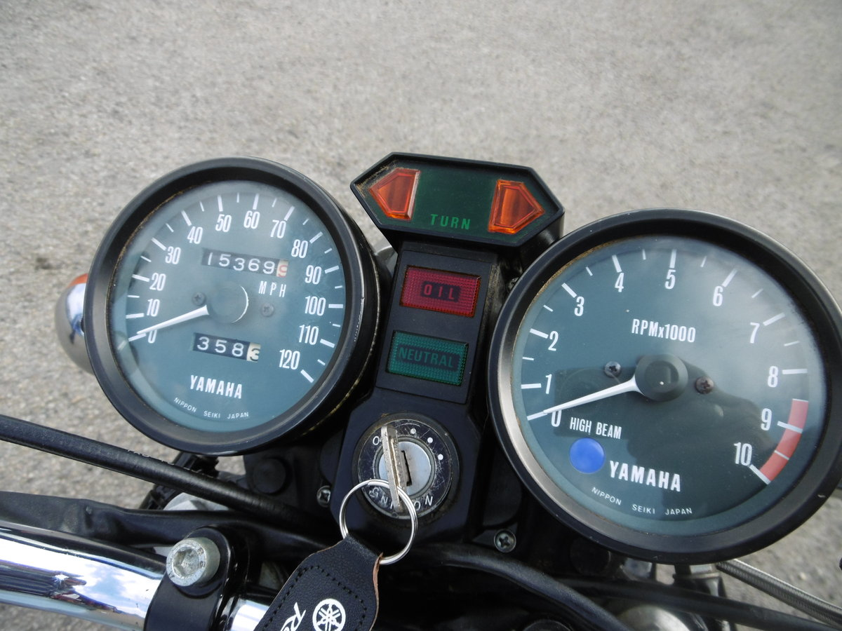 1979 Yamaha RD250 UK bike Timewarp condition .  SOLD (picture 5 of 6)