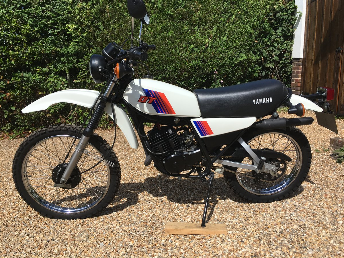 Yamaha DT125MX 1982 For Sale (picture 1 of 6)