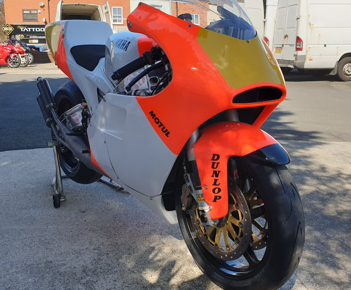 1993 Yamaha YZR500 ROC Grand Prix 2 Stroke Sports For Sale (picture 3 of 6)
