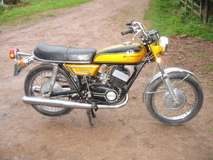 1972 Yamaha YDS7 For Sale by Auction