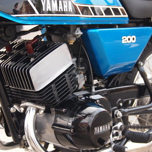 1979 Yamaha RD200 In Stupendous Amazing Condition.
