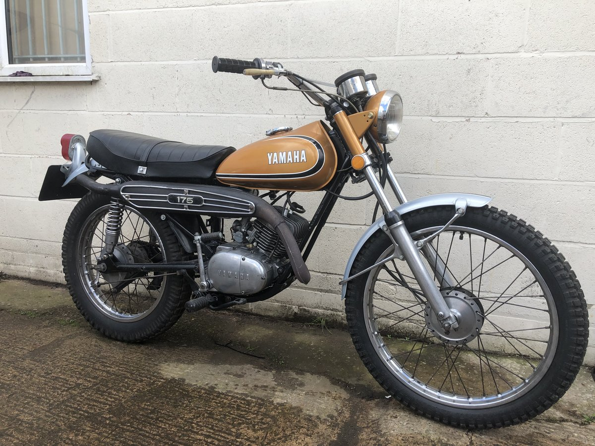 YAMAHA DT175 DT 175 1974 CLASSIC TRAIL TRIAL WITH V5 £2995 For Sale (picture 1 of 4)
