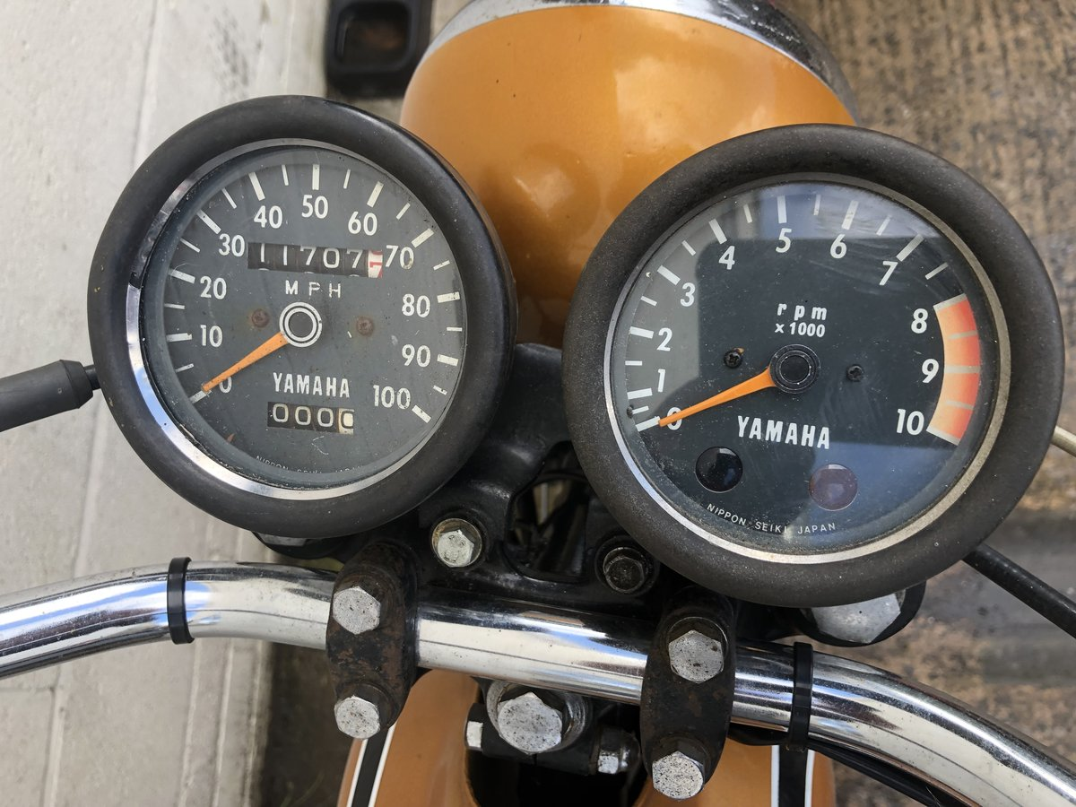 YAMAHA DT175 DT 175 1974 CLASSIC TRAIL TRIAL WITH V5 £2995 For Sale (picture 3 of 4)