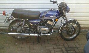 1974 Yamaha RD250B