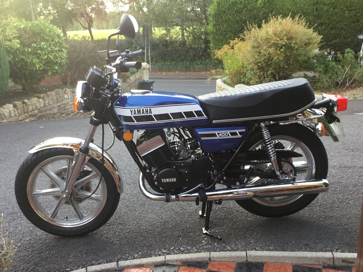 1976 YAMAHA RD400C, AWESOME! For Sale (picture 2 of 3)