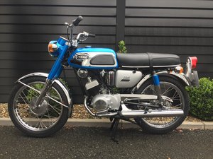 1969 YAS1 Immaculate Restoration 125cc 2 Stroke Twin For Sale