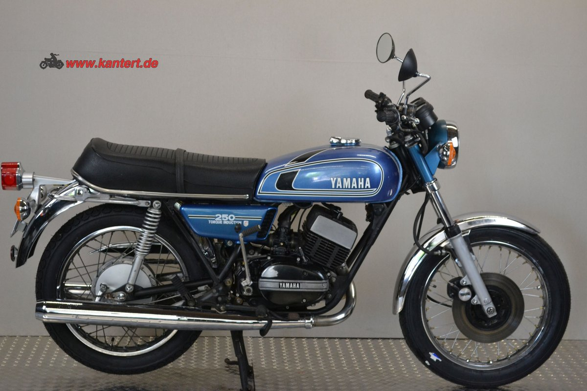 1975 Yamaha RD 250 type 522, 245 cc, 27 hp For Sale (picture 1 of 6)