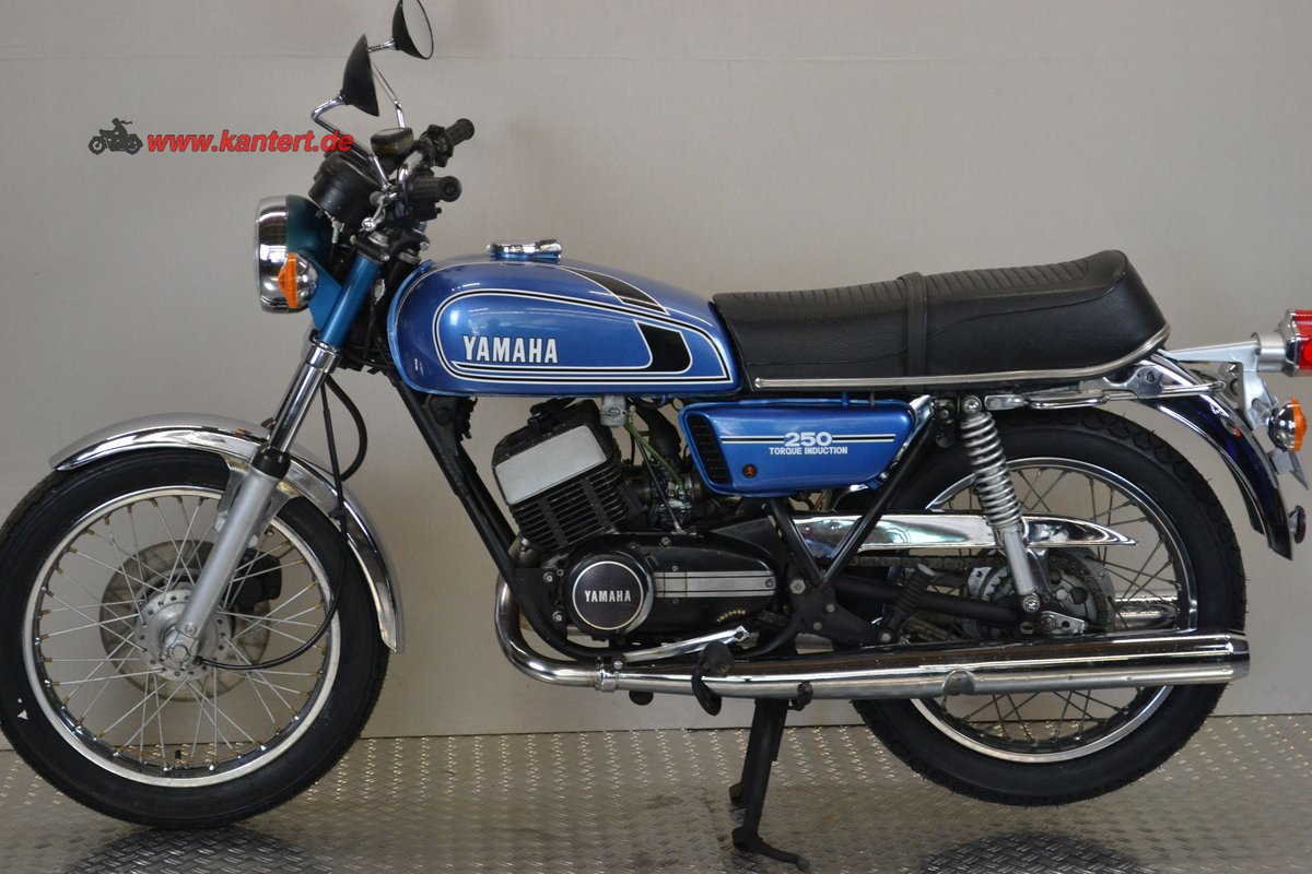 1975 Yamaha RD 250 type 522, 245 cc, 27 hp For Sale (picture 2 of 6)