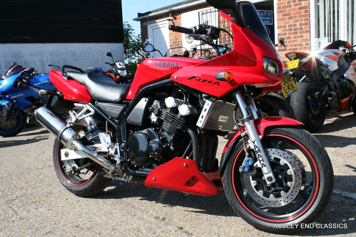1998 YAMAHA 600 FAZER SOLD (picture 5 of 6)