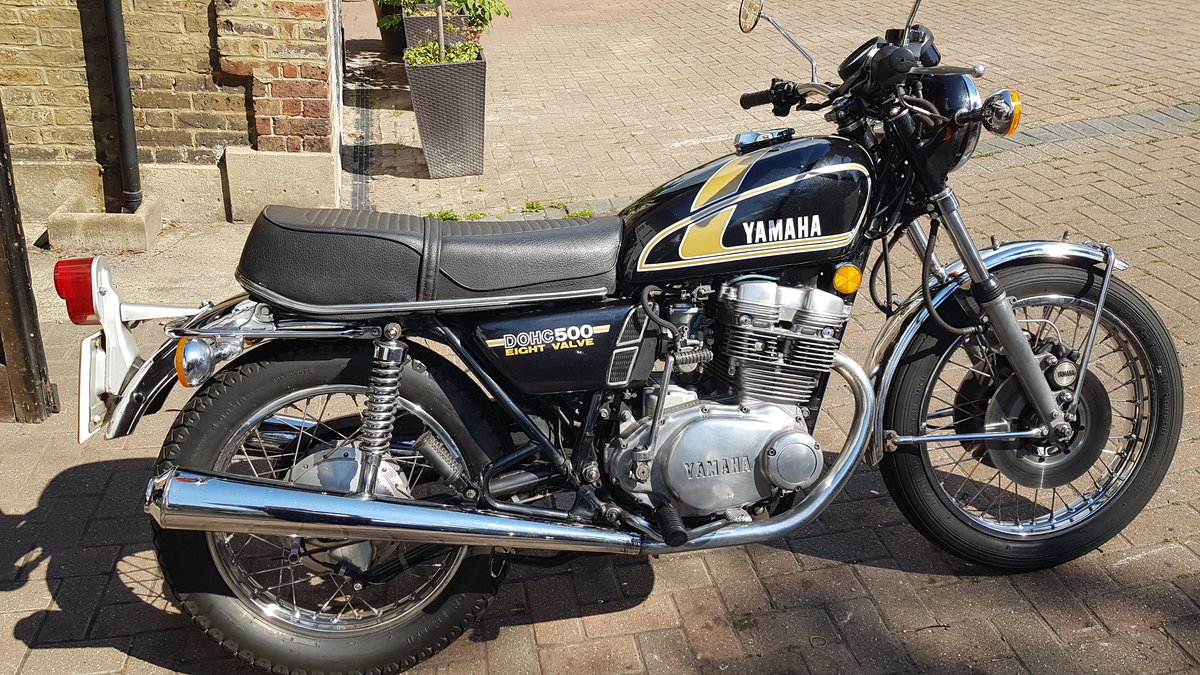 Yamaha XS500B 1975 UK Bike In Exceptional Original SOLD (picture 1 of 6)