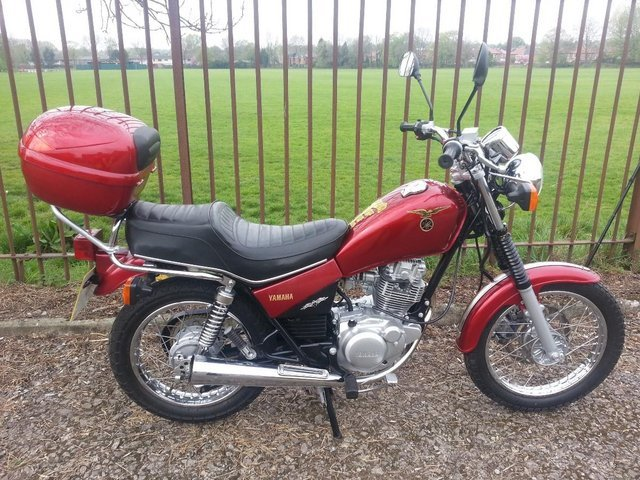 2000 yamaha sr 125 For Sale (picture 1 of 2)