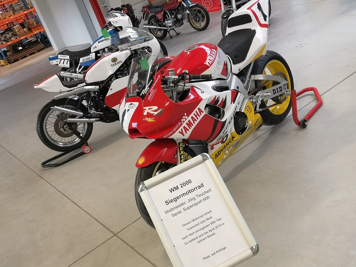 Yamaha YZF-R6 World Championship 2000 Winning Bike !!! For Sale (picture 3 of 5)