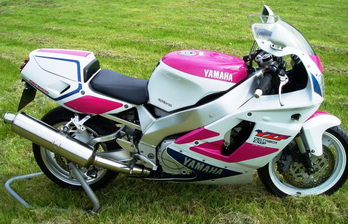 "1992 Yamaha YZF750R ""Pinkie"" Classic Superb Condition For Sale (picture 1 of 6)"