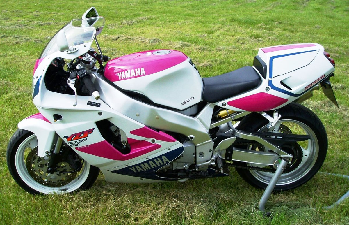 "1992 Yamaha YZF750R ""Pinkie"" Classic Superb Condition For Sale (picture 2 of 6)"