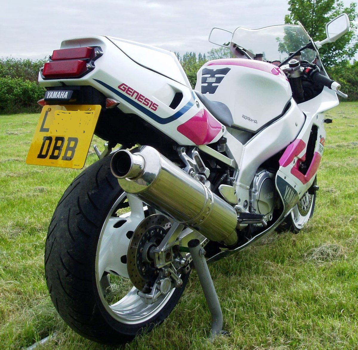 "1992 Yamaha YZF750R ""Pinkie"" Classic Superb Condition For Sale (picture 5 of 6)"