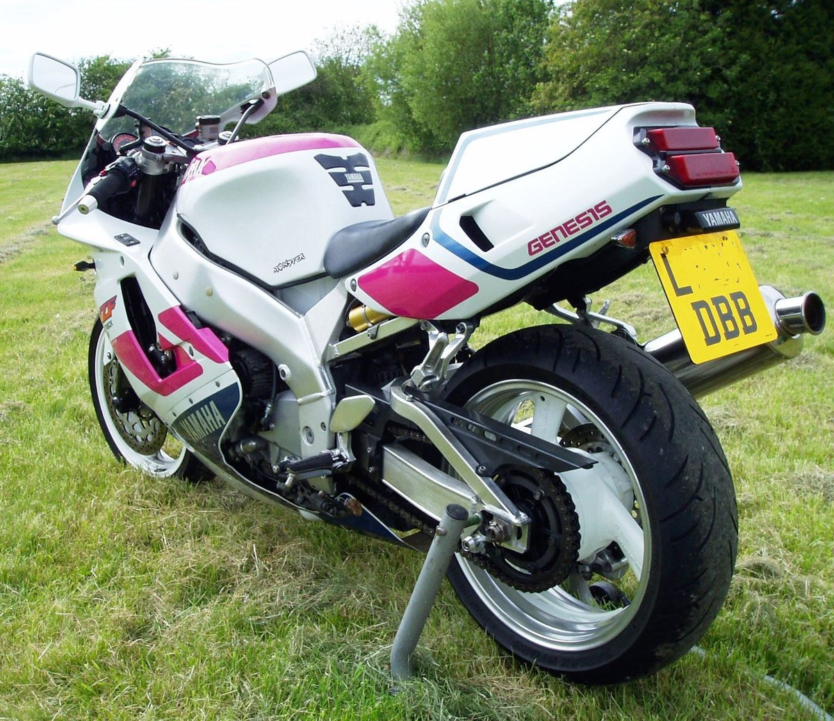 "1992 Yamaha YZF750R ""Pinkie"" Classic Superb Condition For Sale (picture 6 of 6)"
