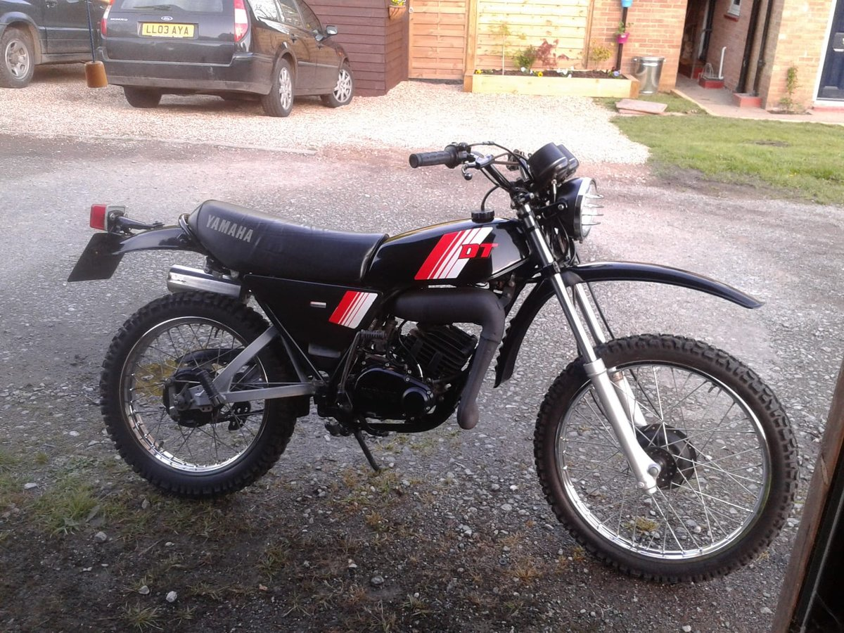 1984 Yamaha DT175mx SOLD (picture 1 of 4)