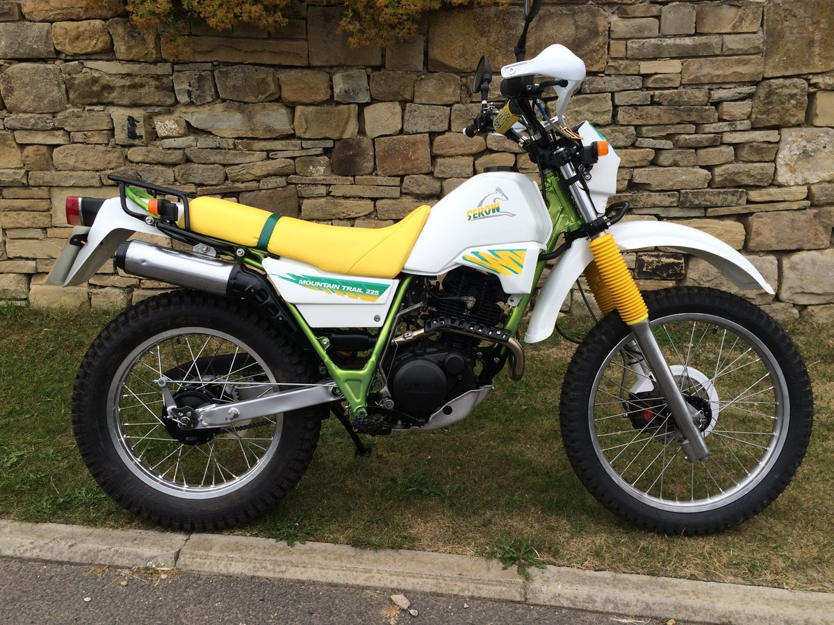1988 Yamaha xt225 Serow  For Sale (picture 1 of 6)