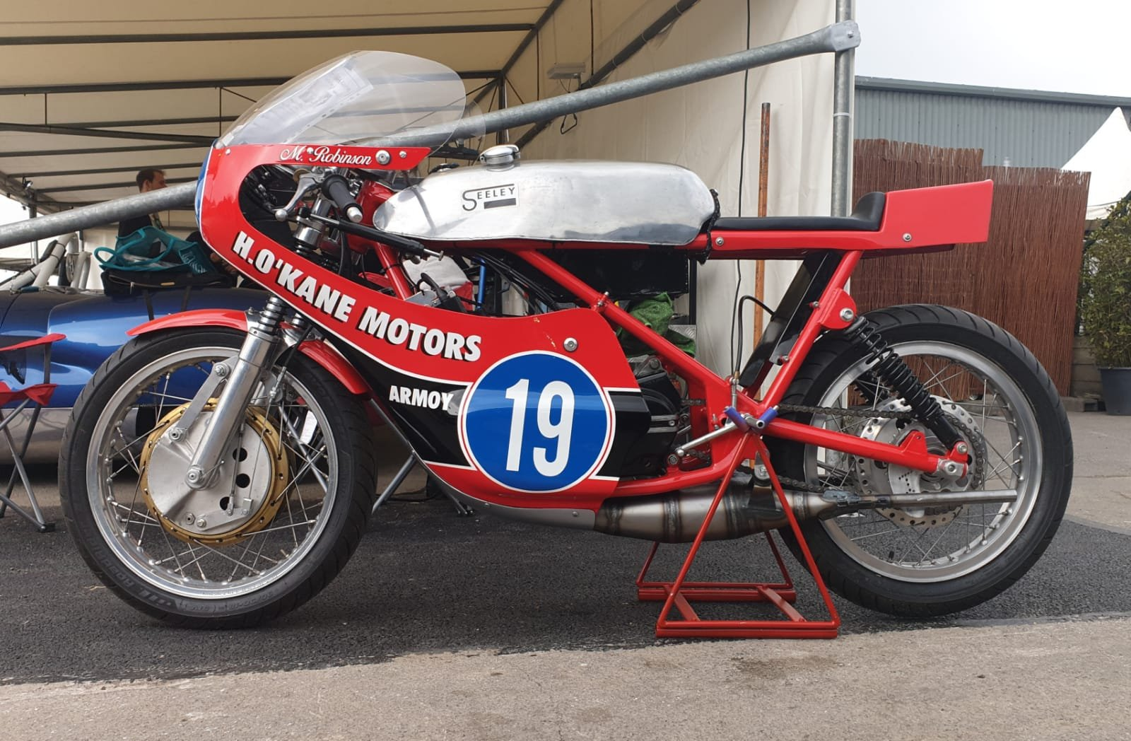 1971 Yamaha YAMSEL 350cc Road Race Classic For Sale (picture 2 of 6)