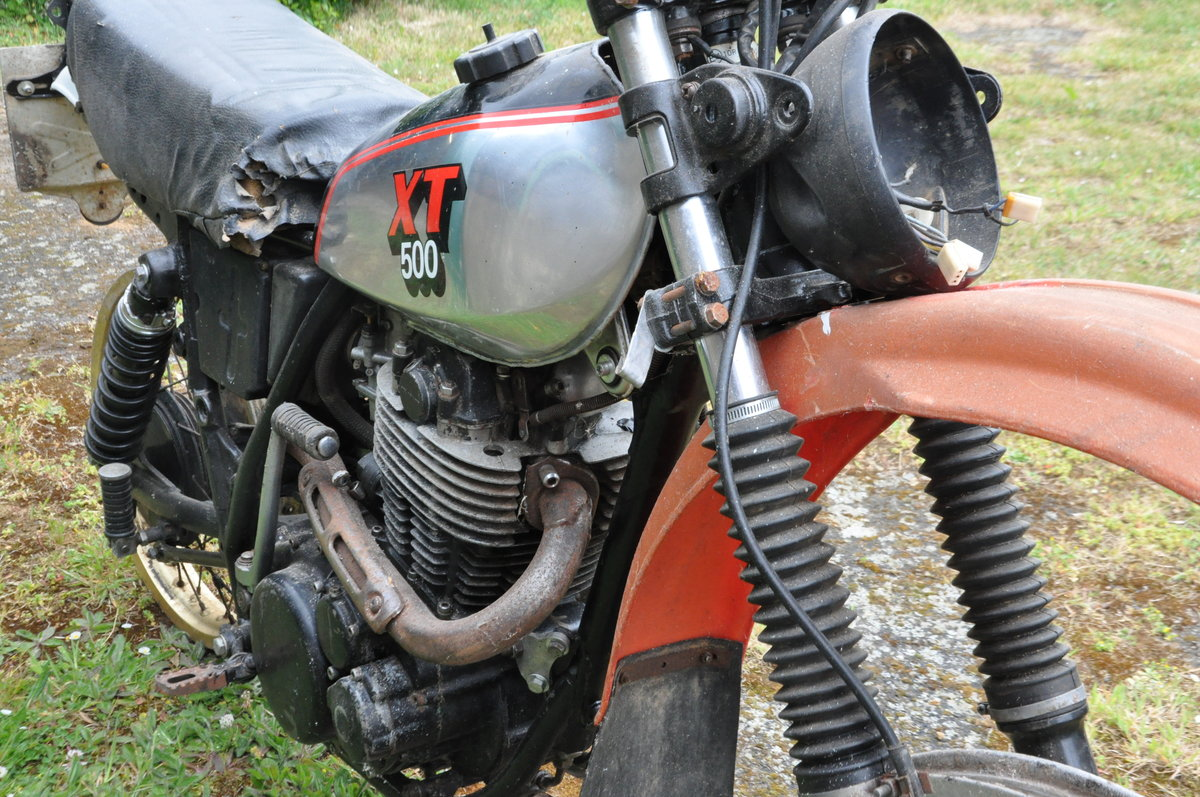1983 Yamaha XT500 plus spares SOLD (picture 2 of 5)
