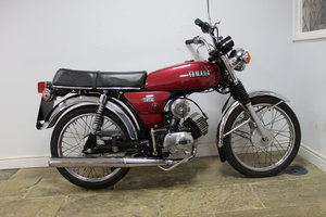 1984 Yamaha YB100 Matching engine and frame numbers 19,000  SOLD