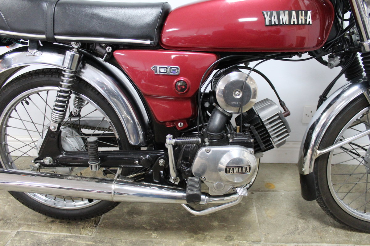1984 Yamaha YB100 Matching engine and frame numbers 19,000  For Sale (picture 2 of 6)