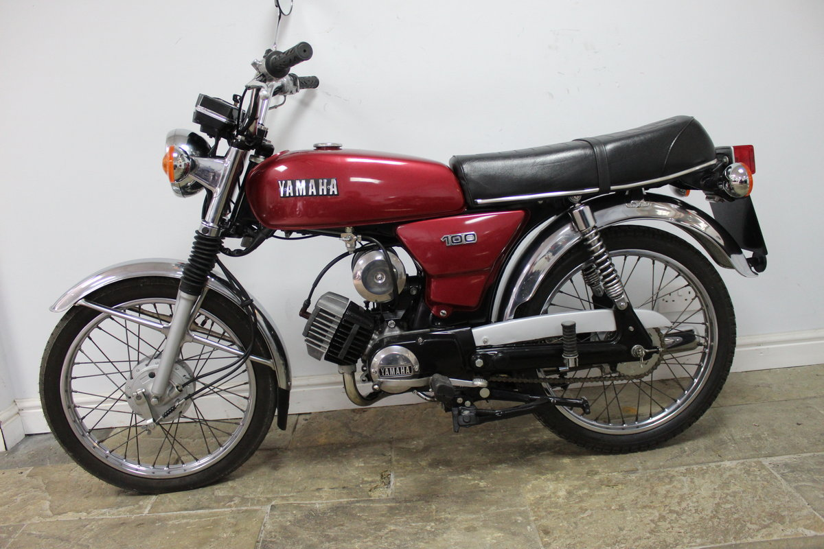 1984 Yamaha YB100 Matching engine and frame numbers 19,000  For Sale (picture 4 of 6)