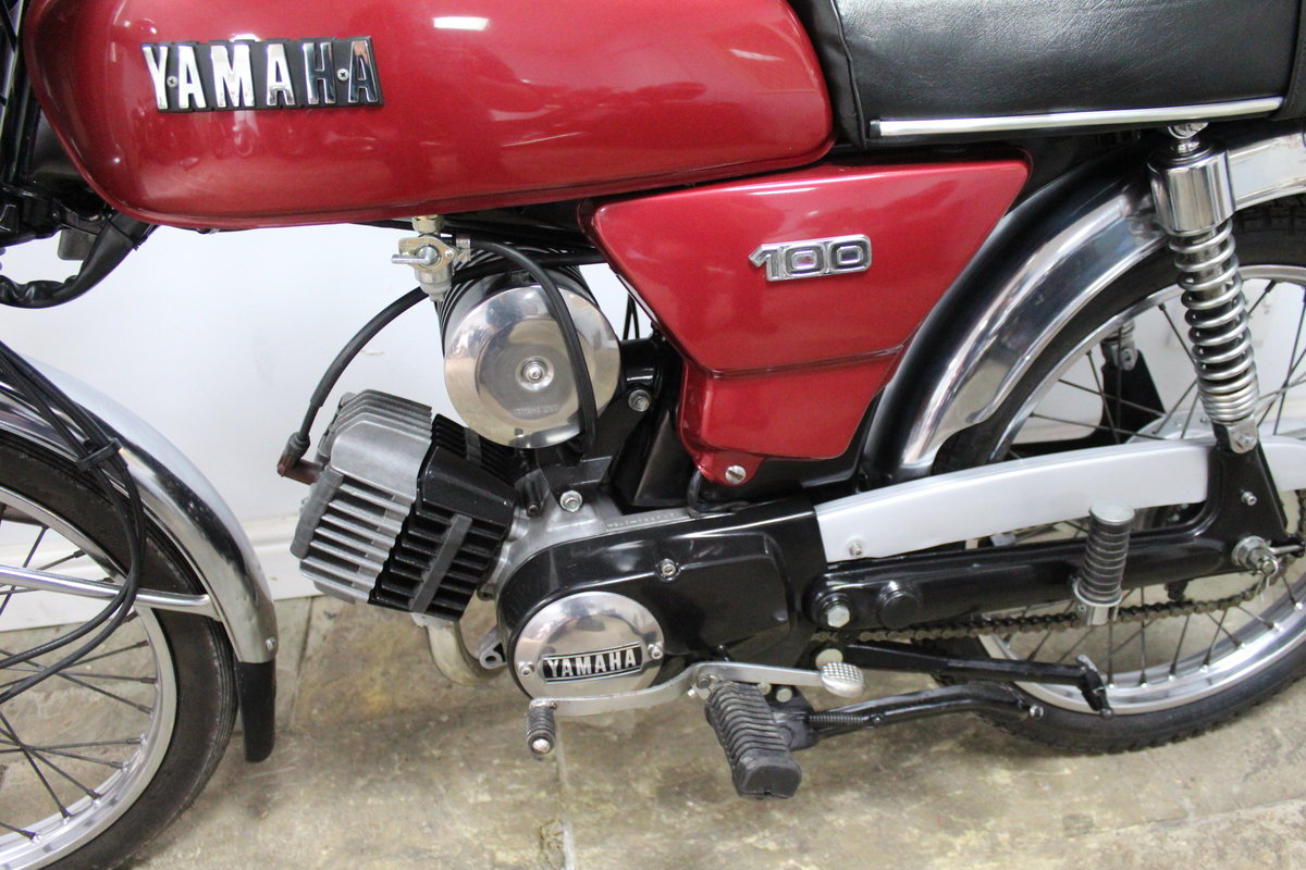 1984 Yamaha YB100 Matching engine and frame numbers 19,000  For Sale (picture 5 of 6)