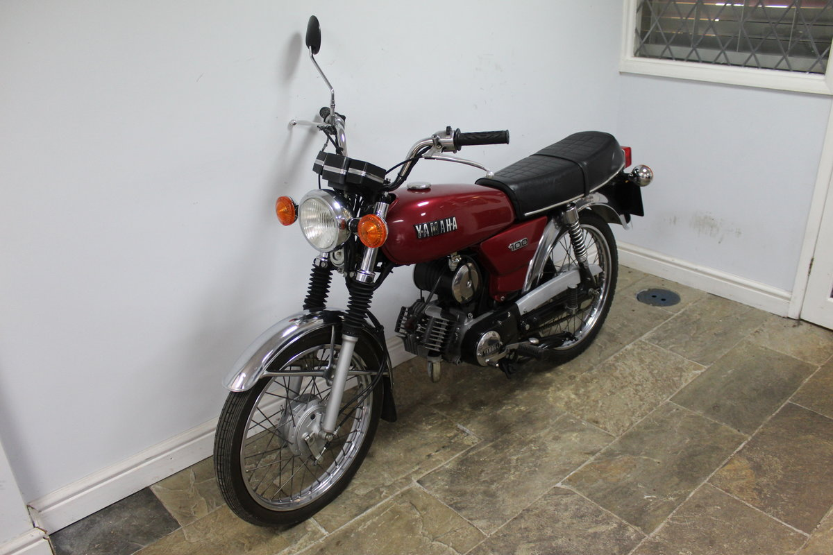 1984 Yamaha YB100 Matching engine and frame numbers 19,000  For Sale (picture 6 of 6)
